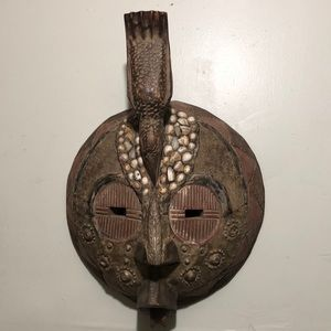 Gorgeous Mask solid wood
